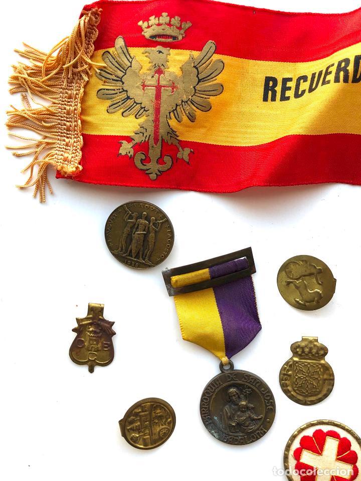 Militaria: LOTE VARIADO DE INSIGNIAS Y MEDALLAS VARIADAS MILITARES. - Foto 14 - 197734383