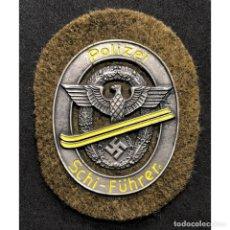 Militaria: ESCUDO POLIZEI SCHI-FÜHRER ALEMANIA NAZI TERCER REICH WEHRMACHT. Lote 197757702