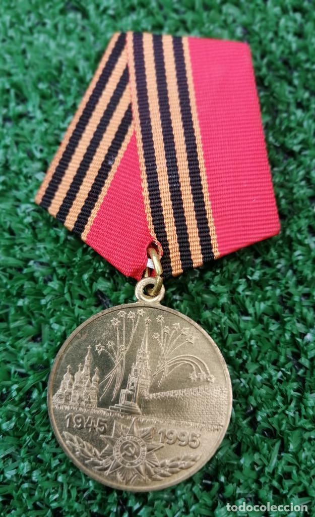 ANTIGUA MEDALLA RUSA (Militar - Medallas Extranjeras Originales)