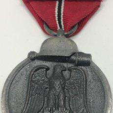 Militaria: MEDALLA CAMPAÑA INVIERNO DEL ESTE. CAMPAÑA DE RUSIA. 1941-1942. OSTMEDAILLE. DIVISIÓN AZUL ALEMANIA. Lote 197894937