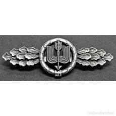 Militaria: PASADOR POR VUELOS DE CAZA ALEMANIA NAZI TERCER REICH LUFTWAFFE. Lote 227453285