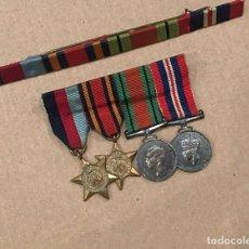Militaria: MINIATURAS BRITANICAS II GUERRA MUNDIAL. Lote 197952873