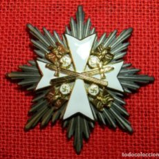 Militaria: ORDEN DEL ÁGUILA ALEMANA DE TERCERA CLASE CON ESPADAS. GROSSKREUZ DES DEUTSCHEN ADLERORDENS. 90 X 90. Lote 198103243