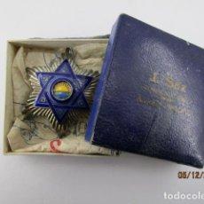 Militaria: PLACA ORDEN MEDAHUIA MEDAUILLA EN SU CAJA ORIGINA VER FOTOS. Lote 198557781