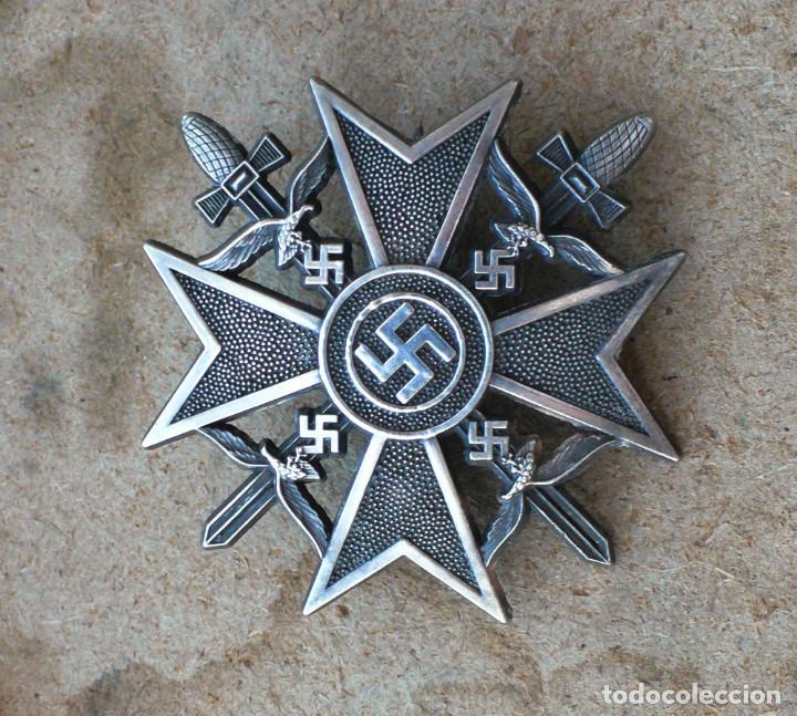 Militaria: 5 insignias .Tercer Reich. LOTE 1 - Foto 4 - 198573187