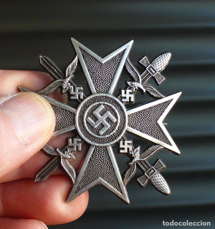 Militaria: 5 insignias .Tercer Reich. LOTE 1 - Foto 6 - 198573187