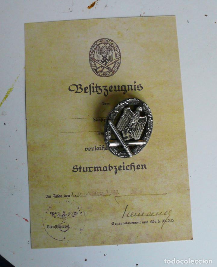 Militaria: 5 insignias .Tercer Reich. LOTE 1 - Foto 7 - 198573187