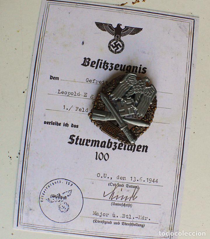 Militaria: 5 insignias .Tercer Reich. LOTE 1 - Foto 12 - 198573187