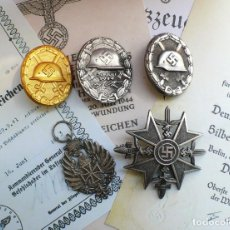 Militaria: 5 INSIGNIAS .TERCER REICH. LOTE 2. Lote 198573533