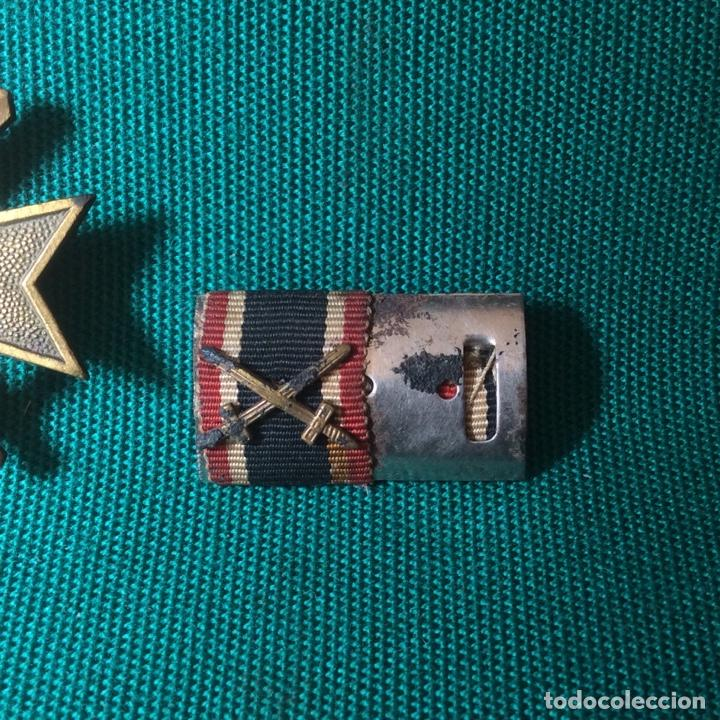 Militaria: Cruz de mérito con espadas II G.M. Con miniatura - Foto 3 - 198605301