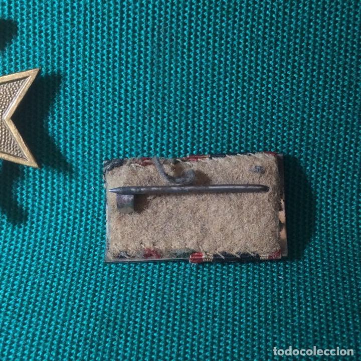 Militaria: Cruz de mérito con espadas II G.M. Con miniatura - Foto 6 - 198605301