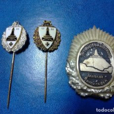 Militaria: INSIGNIAS GORRA Y SOLAPA VETERANOS ALEMANIA. Lote 198611536