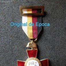 Militaria: (JX-200395) MEDALLA , CRUZ XXV AÑOS DE PAZ , MODELO SUPERPUESTO .. Lote 198631287