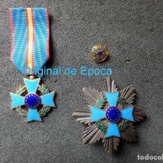 Militaria: (JX-200381)MEDALLA , PLACA Y PIN DEL FOMENTO EUROPEO , CINTA ESPAÑA .. Lote 198634371