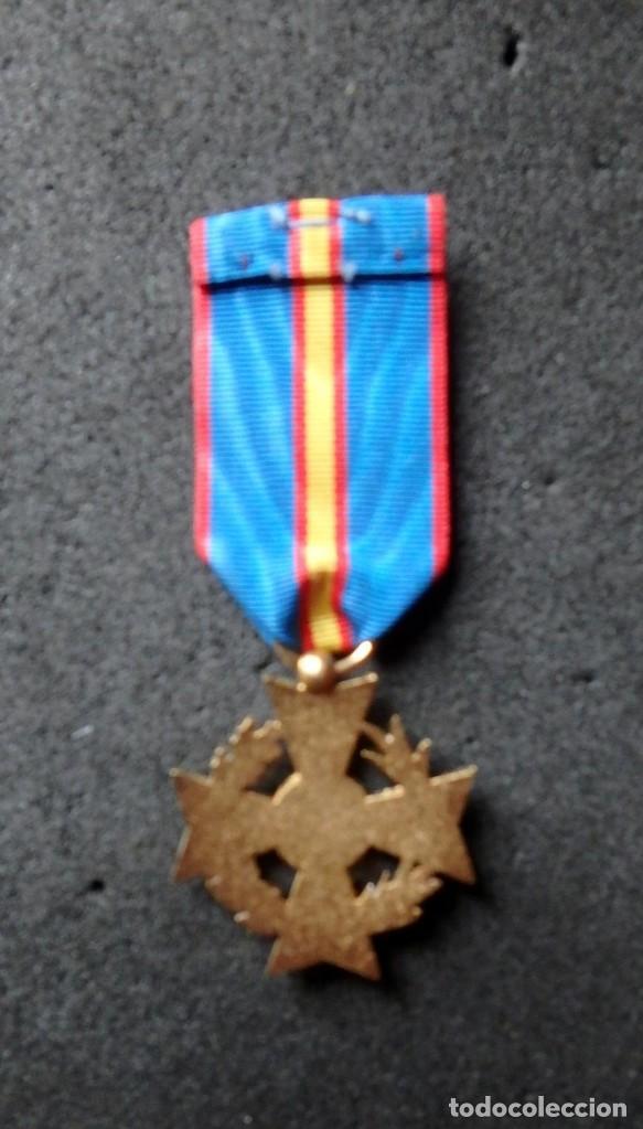 Militaria: (JX-200381)Medalla , placa y pin del Fomento Europeo , cinta España . - Foto 4 - 198634371