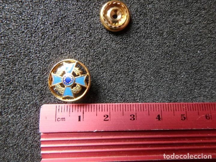 Militaria: (JX-200381)Medalla , placa y pin del Fomento Europeo , cinta España . - Foto 13 - 198634371
