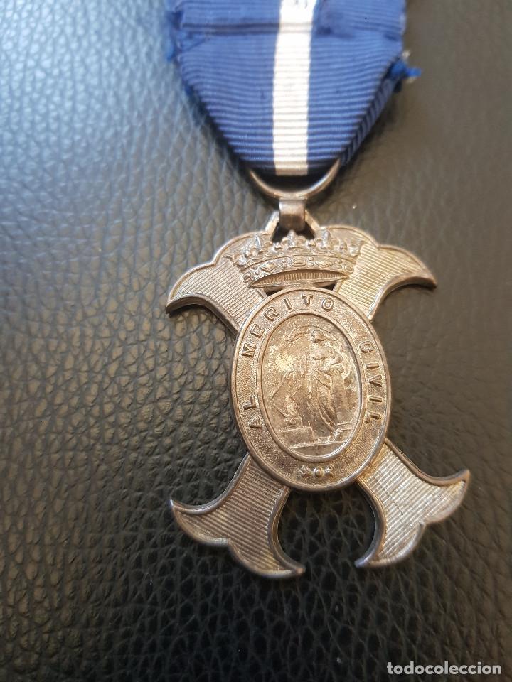 MERITO CIVIL EPOCA DE FRANCO (Militar - Medallas Españolas Originales )