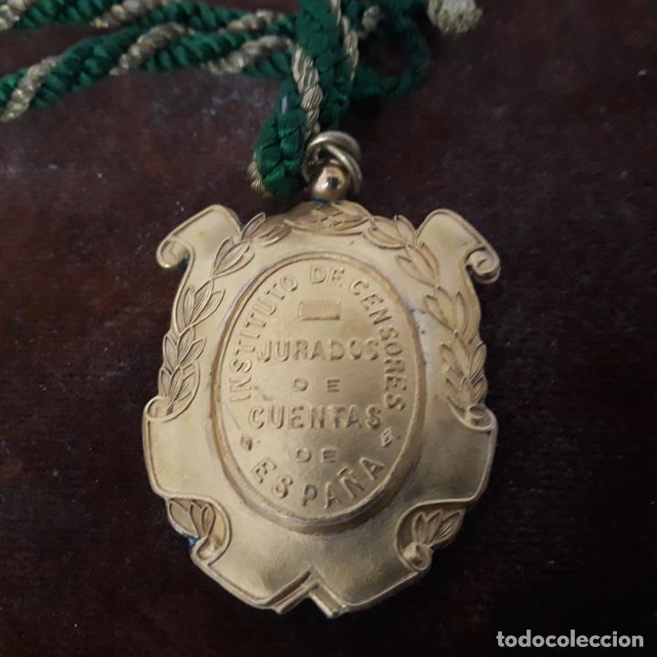 Militaria: medalla instituto de censores jurados de cuentas de españa - Foto 3 - 198901596