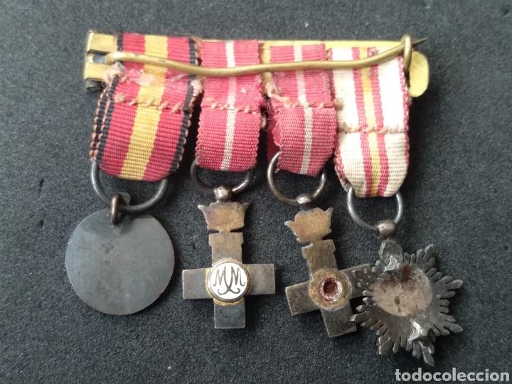 Militaria: Pasador miniatura medallas españolas - Foto 6 - 198958392