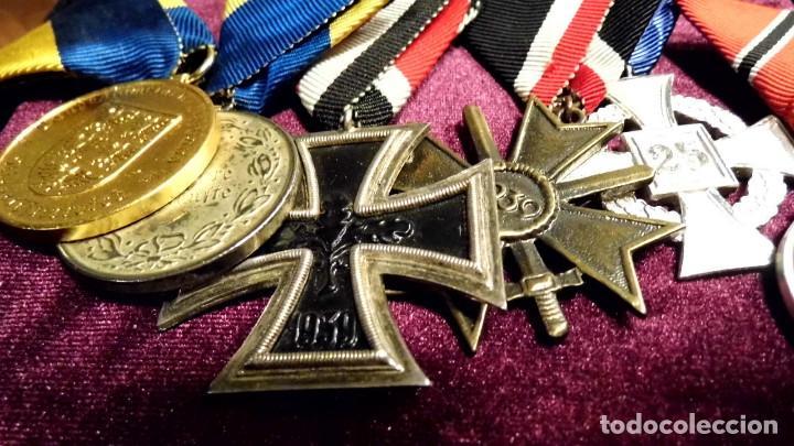 LOTE DE MEDALLAS DE REPOSICION VETERANO ALEMAN (Militar - Medallas Españolas Originales )