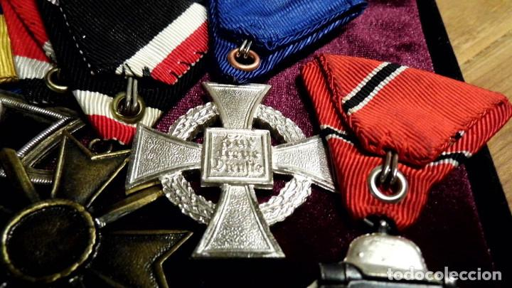 Militaria: LOTE DE MEDALLAS DE REPOSICION VETERANO ALEMAN - Foto 3 - 198991885