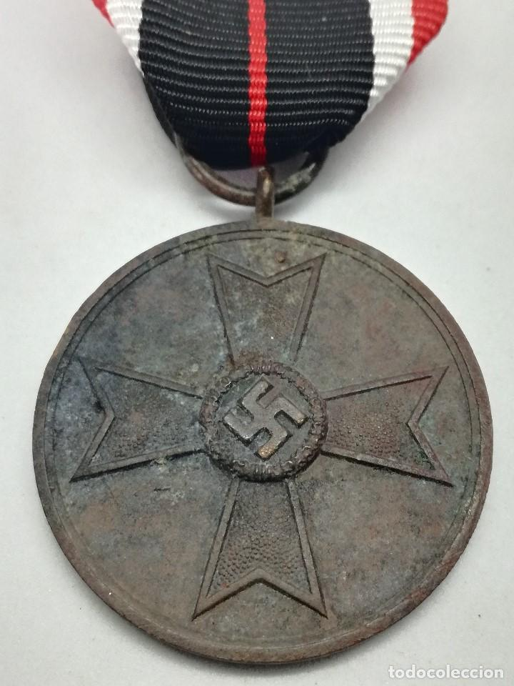 MEDALLA DE LA CRUZ AL MÉRITO DE GUERRA. ALEMANIA. 1940-1945. 2ª GUERRA MUNDIAL. ORIGINAL (Militar - Medallas Internacionales Originales)