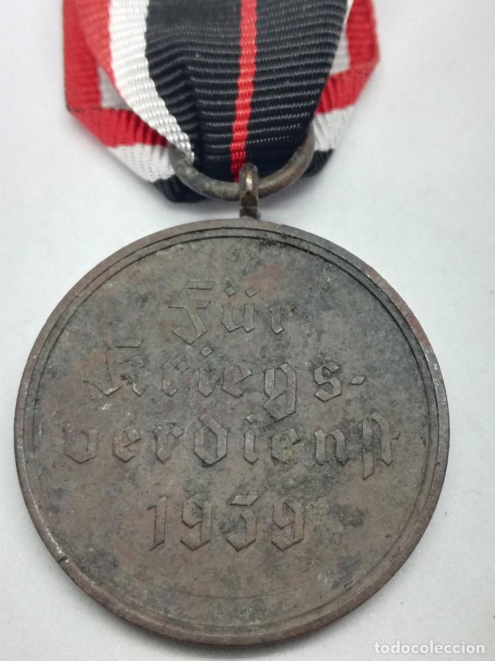 Militaria: Medalla de la Cruz al Mérito de Guerra. Alemania. 1940-1945. 2ª Guerra Mundial. ORIGINAL - Foto 4 - 199069557
