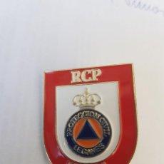 Militaria: INSIGNIA RCP PORTECCION CIVIL. Lote 199108136