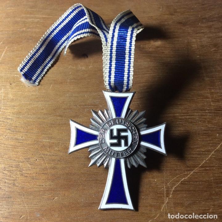 LA CRUZ DE MADRE (Militar - Medallas Extranjeras Originales)