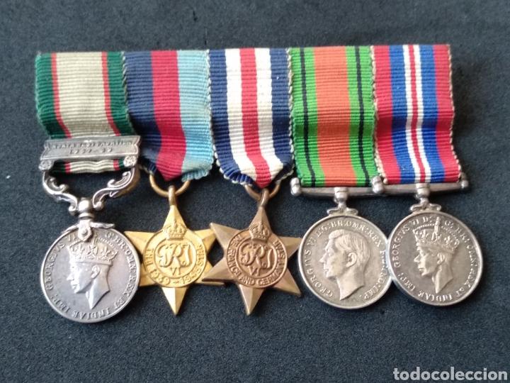 ASADOR MINIATURA INGLÉS GRAN BRETAÑA (Militar - Medallas Internacionales Originales)