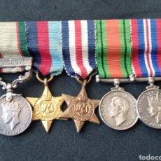 Militaria: ASADOR MINIATURA INGLÉS GRAN BRETAÑA. Lote 199775240