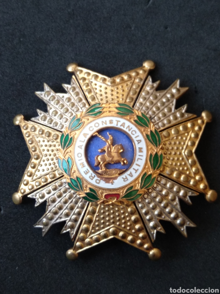 Militaria: Gran placa orden de San Hermenegildo - Foto 4 - 199831590