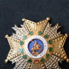 Militaria: GRAN PLACA ORDEN DE SAN HERMENEGILDO. Lote 199831590