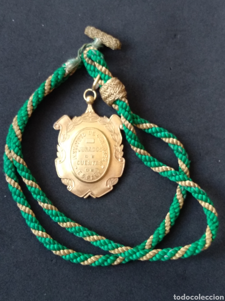 Militaria: Medalla instituto de censores jurados de cuentas - Foto 6 - 199832430