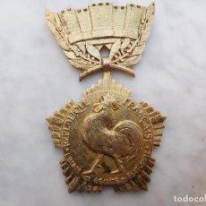 Militaria: MEDALLA FRANCESA COLECTIVA LOCAL PLATA DORADA. Lote 200028457