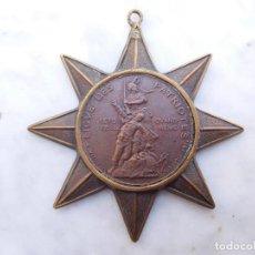 Militaria: MEDALLA FRANCESA LIGA DE PATRIOTAS AÑO 1882. Lote 200028560