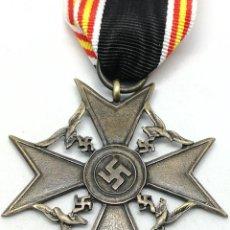 Militaria: RÉPLICA MEDALLA CRUZ DE ESPAÑA. LEGIÓN CÓNDOR. CATEGORÍA BRONCE. GUERRA CIVIL ESPAÑOLA. 1936-1939. Lote 200589467