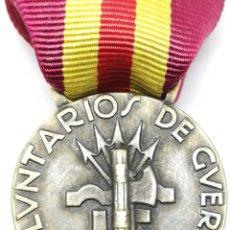 Militaria: RÉPLICA MEDALLA VOLUNTARIOS DE GUERRA ITALIANOS Y ALEMANES. LEGIÓN CÓNDOR. CTV CORPPO DI TRUPPE VOLO. Lote 200735471