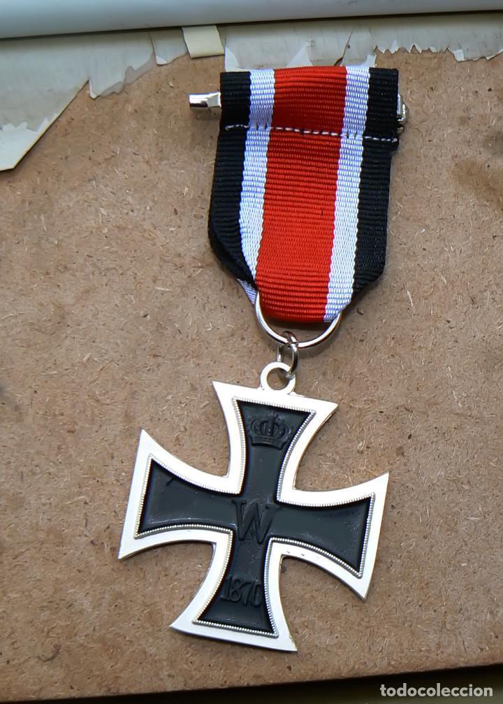CRUZ DE HIERRO. EISERNEN KREUZ ..1870 (Militar - Reproducciones y Réplicas de Medallas )