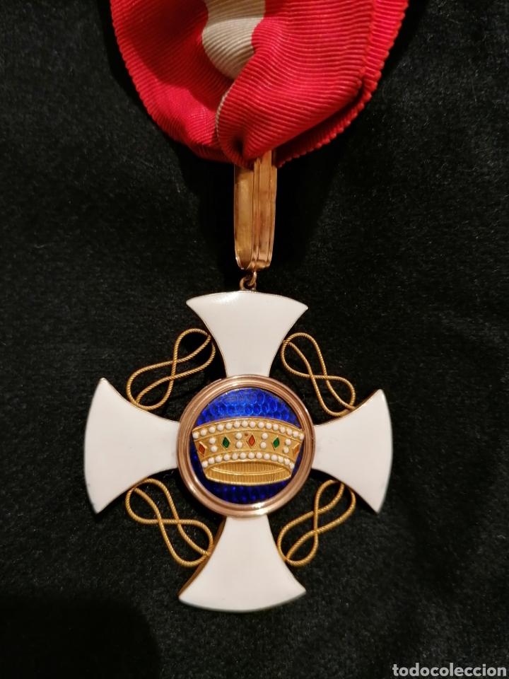 ORDINE DELLA CORONA D'ITALIA. ORDER OF THE CROWN OF ITALY. KNIGHT (CAVALIERE) (Militar - Medallas Internacionales Originales)