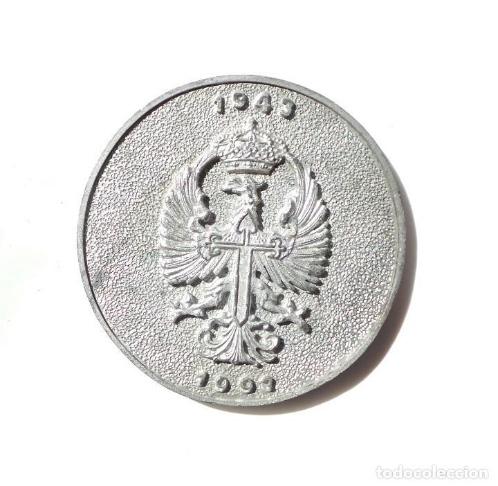 Militaria: MEDALLA INSTITUTO POLITECNICO Nº1 - 50 ANIVERSARIO 1943 - 1993 - 7,5 CM DE DIÁMETRO - Foto 2 - 201982205