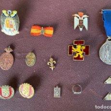 Militaria: MILITARIA . ALFONSO XIII . AGUILA DE SAN JUAN . FALANGE . FRANCO . OJE .. Lote 202015837