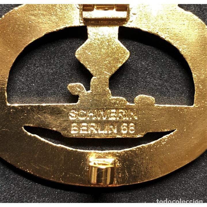 Militaria: DISTINTIVO DE COMBATE DE SUBMARINOS ORO Y DIAMANTES Alemania Nazi Tercer Reich Kriegsmarine - Foto 4 - 203221016