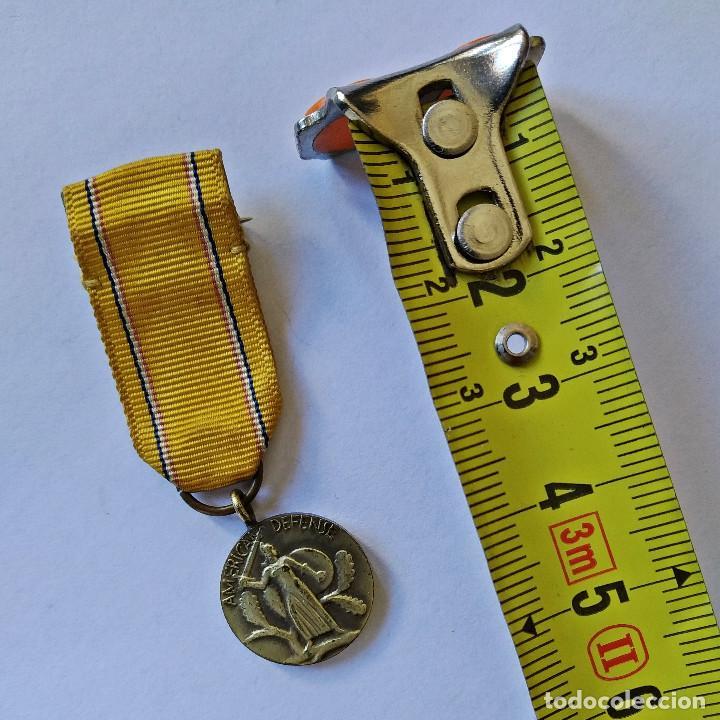 """Militaria: Insignia condecoración """"American Defense"""" de la Segunda Guerra Mundial, 1939-1941 (182). - Foto 5 - 203601027"""