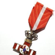 Militaria: CRUZ 1ª CL. DISTINTIVO ROJO PENSIONADA DE LA ORDEN DEL MERITO MILITAR - PG-164. Lote 203821023