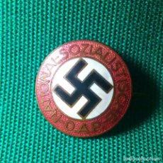 Militaria: CHAPA ALEMANA DE PARTIDO NAZI - EPOCA DE TERCER REICH. Lote 203833452