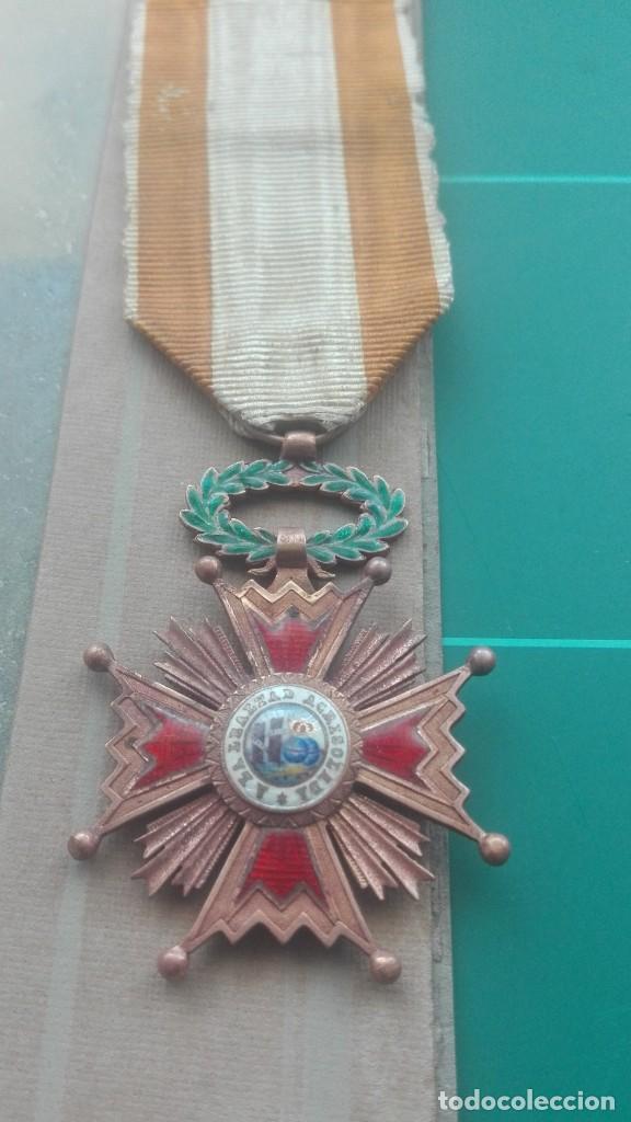 Militaria: Retrato con medallas. 1915. Isabel la Católica - Foto 5 - 203839413