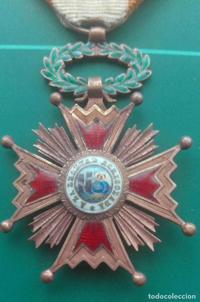 Militaria: Retrato con medallas. 1915. Isabel la Católica - Foto 7 - 203839413