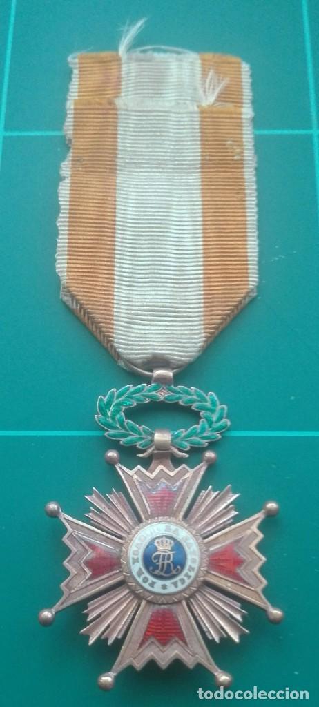 Militaria: Retrato con medallas. 1915. Isabel la Católica - Foto 8 - 203839413