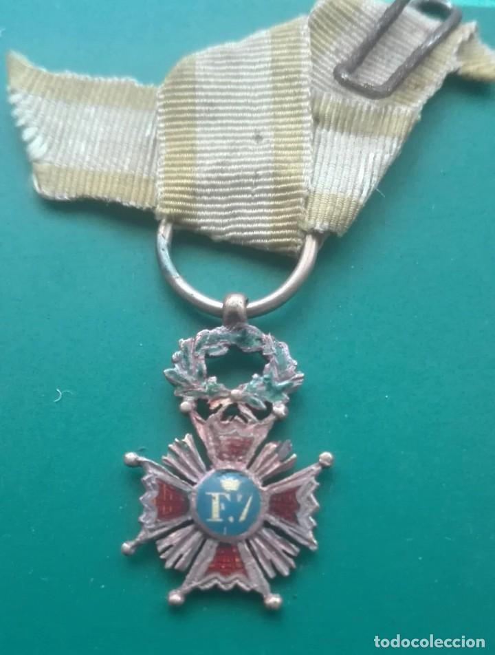 Militaria: Retrato con medallas. 1915. Isabel la Católica - Foto 10 - 203839413